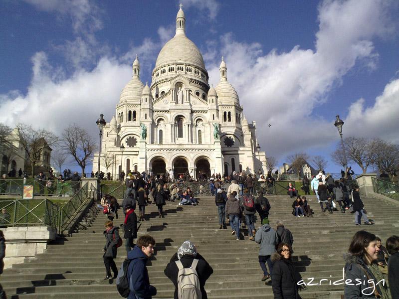 Basilique de Sacre Coeur à Montmartre, Paris, France, 2010
