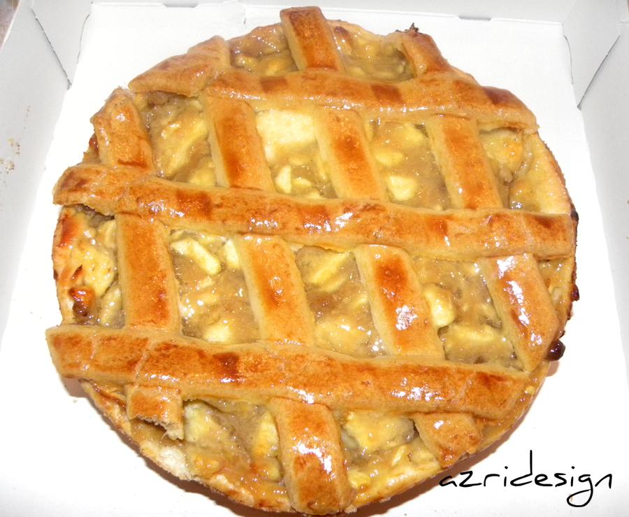 Dutch apple tart van HEMA - Rijswijk, Netherlands 2011