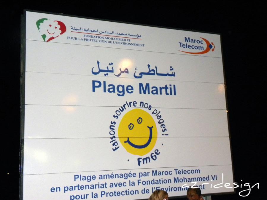 Martil beach - Tetouan, Morocco, 2011