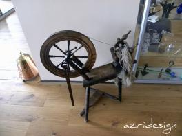 An old Spinning Wheel - Scheveningen , Netherlands, 2010