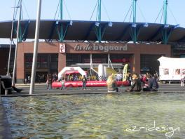 hoofdingang van winkelcentrum In de Bogaard - Rijswijk, Netherlands, 2011
