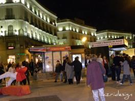 Madrid by night, Spain, 2010