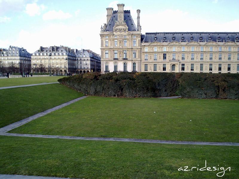 Jardin des Tuileries, le Louvre - Paris, France, 2010