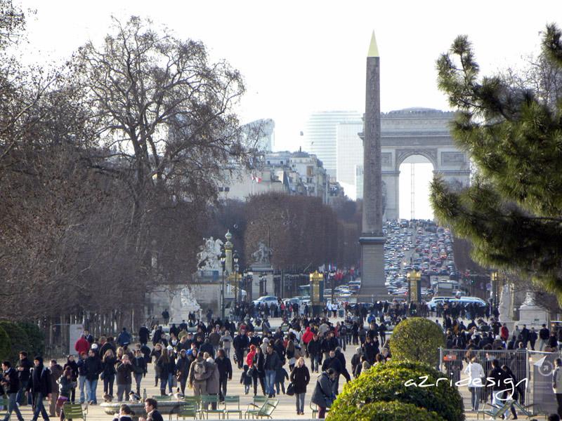 Arc de Triomphe - Paris, France, 2010