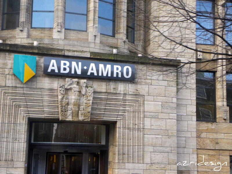 ABN-AMRO bank in Den Haag, The Hagues, Netherlands, 2010