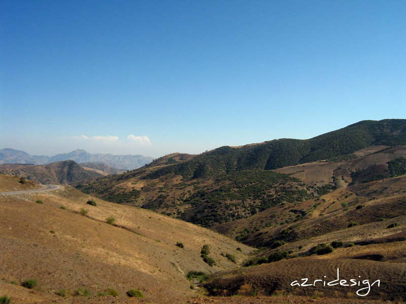 Rif Land, a beautiful region in north of Morocco