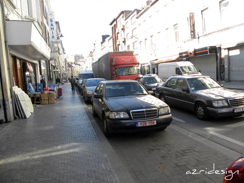 La commune bruxelloise de Molenbeek Saint-Jean, Bruxelles, Belgique, 2010