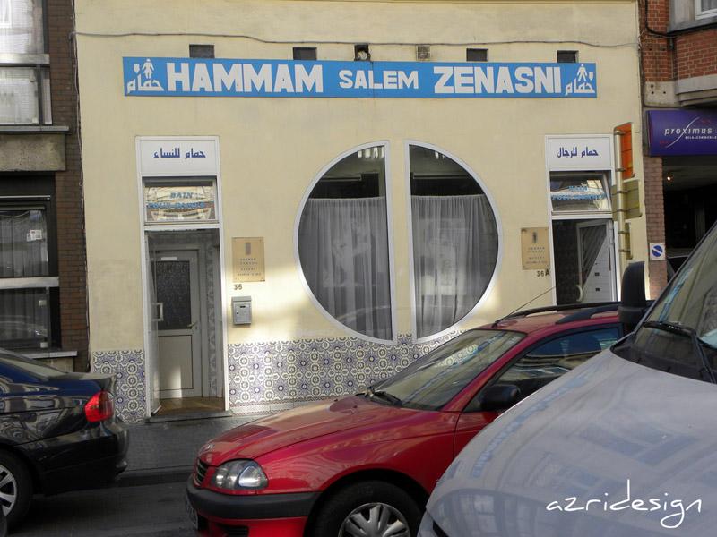 Hammam Salem Iznasni à Molenbeek-Saint-Jean, Bruxelles, Belgique, 2010