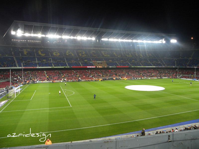 Camp Nou, Barcelona, Spania, 2010