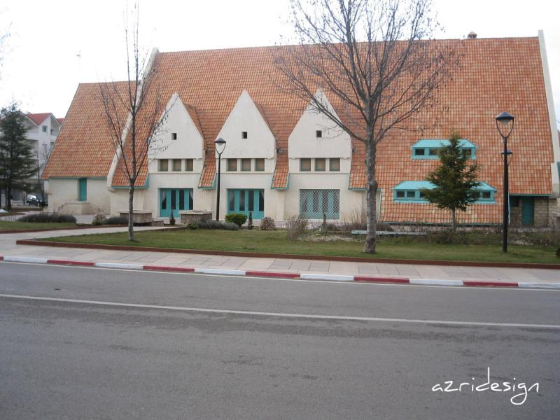 The outskirts of the Ifrane city, Morocco 2009