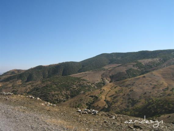 Arrif, a beautiful region in north of Morocco