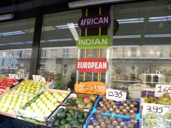 Fruiterie à l'international à Bruxelles.., Bruxelles, Belgique, 2010