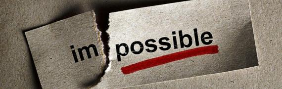 Impossible is Just a Word Which Means I am Possible