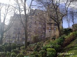 Funiculaire de Montmartre qui permet de monter au sommet de la butte Montmartre