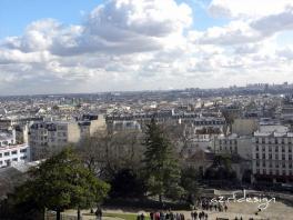 Paris vue depuis le Sacre Coeur de Montmartre, Paris, France, 2010