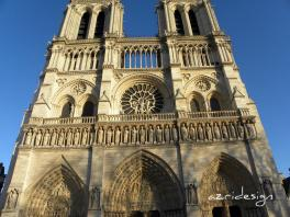 Notre Dame Cathedral, Paris, France, 2010