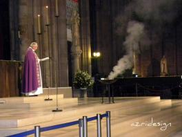 Mass, Notre Dame de Paris Cathedral, Paris, France, 2010