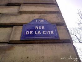La Place Louis Lépine sur l'ile de la cité - Paris, France, 2010