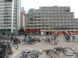 Den Haag Centraal. The highest bicycle density in the world :) The Hagues, Nethe
