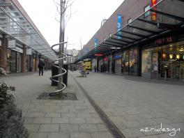 In de Bogaard, shopping area. Rijswijk, Netherlands, 2010