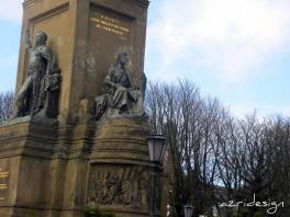 Plein 1813, monument in Willemspark, Den Haag, Netherlands, 2010