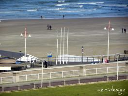 Scheveningen Beach in the winter, Den Haag, Netherlands, 2010