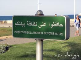 Plage Rincon à Mdi'q, conseil - Mdi'q-Fnid'q, Morocco, 2011
