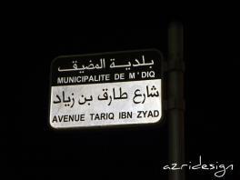 Avenue Tariq Ibn Zyad - M'diq, Morocco, 2011
