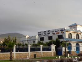 Saniat Paloma restuarant - Mdi'q-Fnid'q, Morocco, 2011