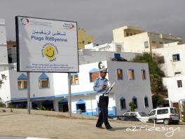 Plage Rifiyenne, Fnideq - Mdi'q-Fnid'q, Morocco, 2011