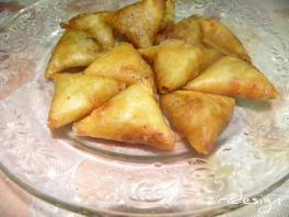 Moroccan pastry: Briouats - Meknes, Morocco 2011