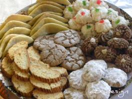 Gateaux marocains, Petits fours à la noix de Coco, Kaab Ghzal, Fekkas, Ghoribas