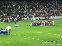 FC Barcelona players, Camp Nou, Barcelona, Spania, 2010