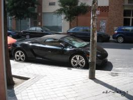 Beautiful car - Madrid, Spain, 2007